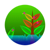 Brawl Sticker Electroplankton