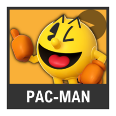 Super Smash Bros. Strife character box - Pac-Man