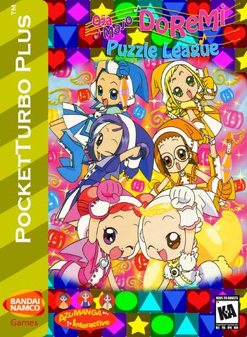 File:Ojamajo DoReMi Puzzle League Box Art 4.png