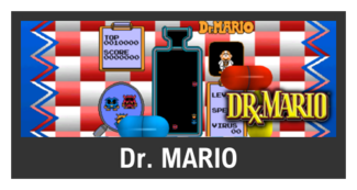Super Smash Bros. Strife stage box - Dr. Mario