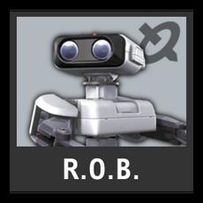 Super Smash Bros. Strife character box - R.O.B.