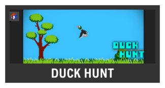 Super Smash Bros. Strife stage box - Duck Hunt