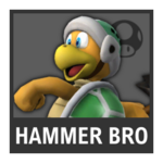 Super Smash Bros. Strife Assist box - Hammer Bro.
