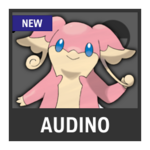 Super Smash Bros. Strife Pokémon box - Audino