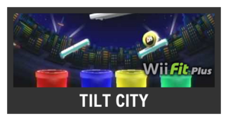 Super Smash Bros. Strife stage box - Tilt City
