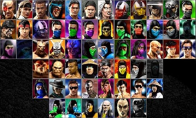 Mortal Kombat Trilogy Extended Character Selection
