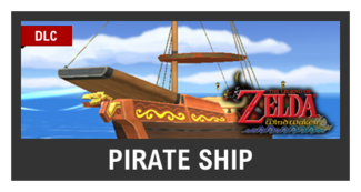 Super Smash Bros. Strife stage box - Pirate Ship