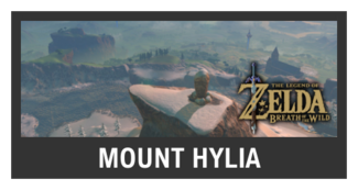 Super Smash Bros. Strife stage box - Mount Hylia