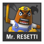 Super Smash Bros. Strife Assist box - Mr. Resetti