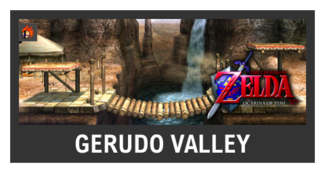 Super Smash Bros. Strife stage box - Gerudo Valley