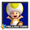 ACL Mario Kart 9 character box - Yellow Toad