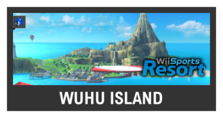 Super Smash Bros. Strife stage box - Wuhu Island