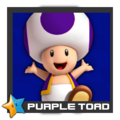 ACL Mario Kart 9 character box - Purple Toad