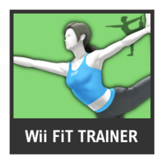 Super Smash Bros. Strife character box - Wii Fit Trainer
