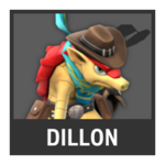 Super Smash Bros. Strife Assist box - Dillon