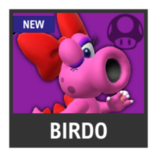 Super Smash Bros. Strife character box - Birdo