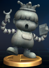 Porky Statue - Brawl Trophy