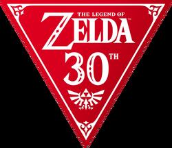 Legend of Zelda 30th Anniversary logo