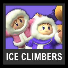 Super Smash Bros. Strife character box - Ice Climbers