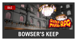 Super Smash Bros. Strife stage box - Bowser's Keep