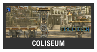 Super Smash Bros. Strife stage box - Coliseum