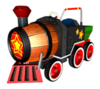 Brawl Sticker Barrel Train (Mario Kart DD!!)