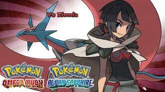 Pokemon Omega Ruby Alpha Sapphire - Battle! Zinnia Music (HQ)