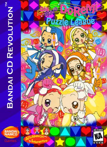 File:Ojamajo DoReMi Puzzle League Box Art 2.png