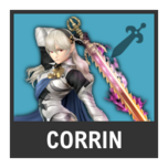 Super Smash Bros. Strife character box - Corrin F
