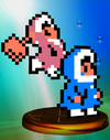 Ice Climber Trophy Melee