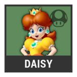 Super Smash Bros. Strife character box - Daisy Dress