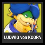 Super Smash Bros. Strife character box - Ludwig von Koopa