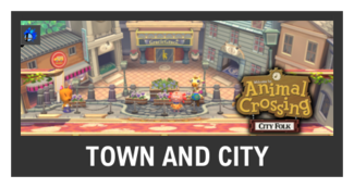 Super Smash Bros. Strife stage box - Town and City