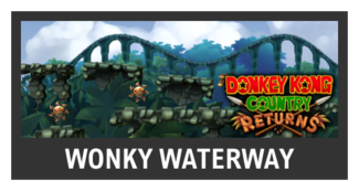 Super Smash Bros. Strife stage box - Wonky Waterway