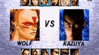 Virtua Fighter 2 vs Tekken 2 Sega Genesis Character Select