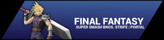 SSBStrife portal image - Final Fantasy
