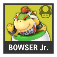 Super Smash Bros. Strife character box - Bowser Jr.