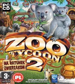 Zoo Tycoon 2 Na ratunek zwierzakom okładka