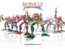 Bionicle Heroes Tapeta 2