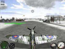 Air Conflicts - start z lotniska