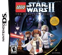 Lego Star Wars II DS COVER