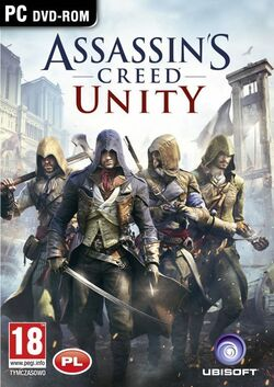 Assassin's Creed Unity okładka
