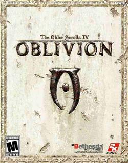 TES IV Oblivion okładka