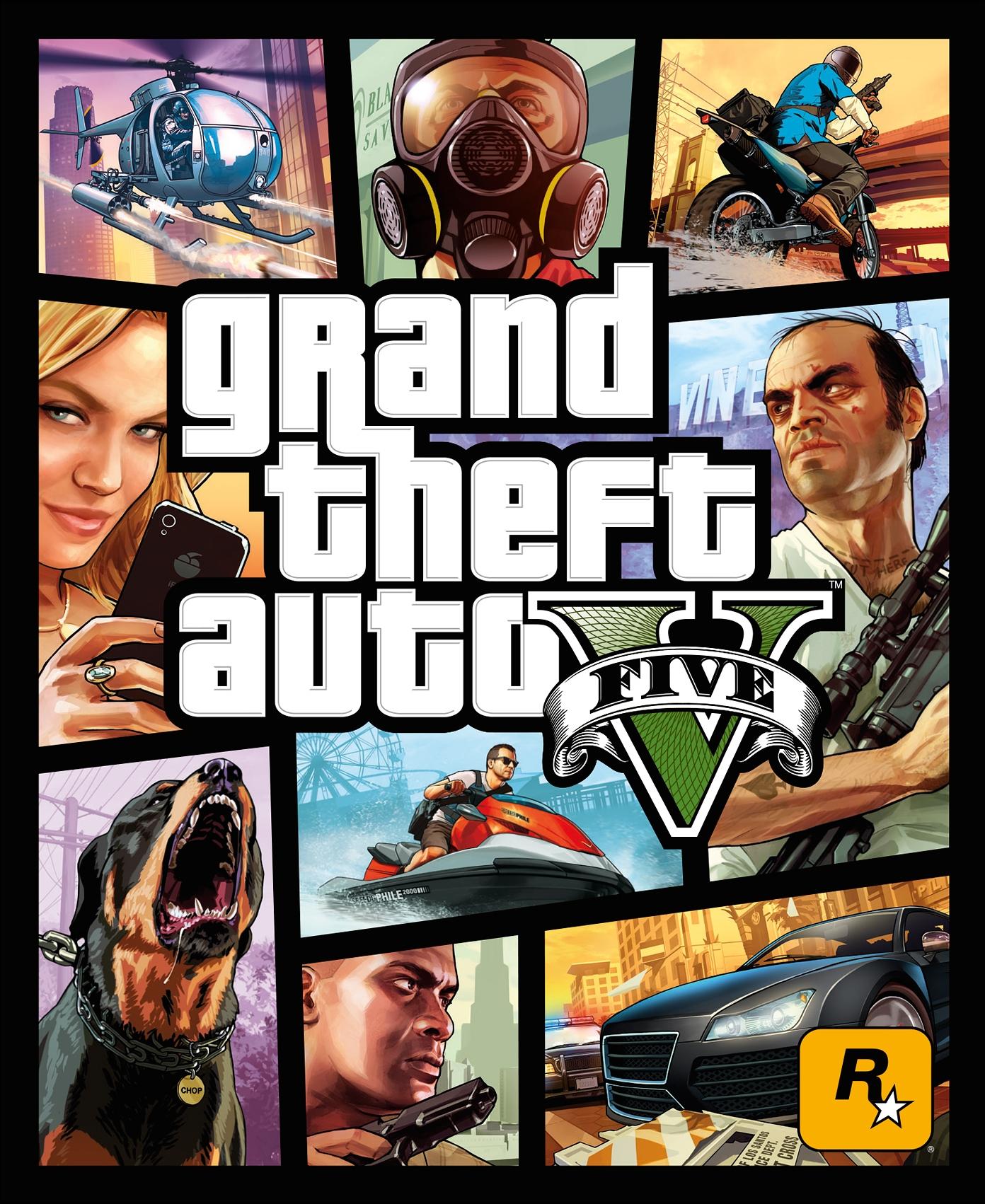 GTA V okładka