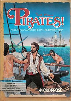 Sid Meier's Pirates! (1987) Coverart