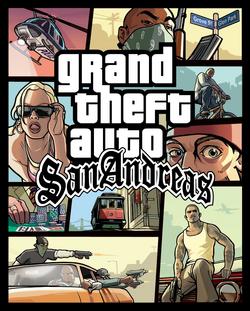 GTA San Andreas okładka