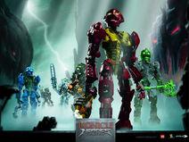 Bionicle Heroes Tapeta 1