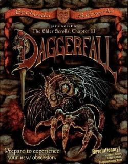 TES II Daggerfall okładka