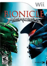 Bionicle Heroes Wii Cover
