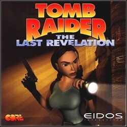 Tomb Raider 4 The Last Revelation okładka